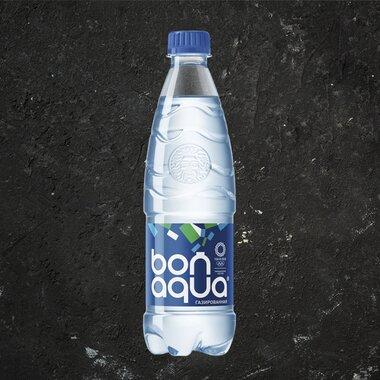 Вода Бон Аква газированная 0,5 л